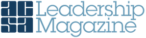Leadership magazine logo.